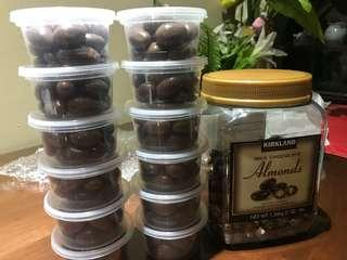 Kirkland Milk Chocolate Almonds 20s