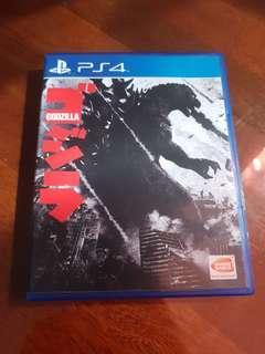 PS4 game: Godzilla