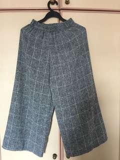 Grey Checkered Pants