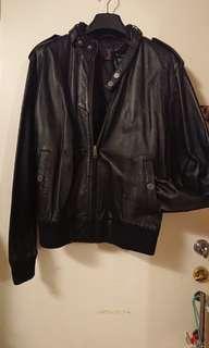 清屋Used Men's sheep leather jacket男裝羊皮外套