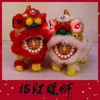 WI16/P6*K【AA487814】电动舞狮宝宝🐯🐯.
