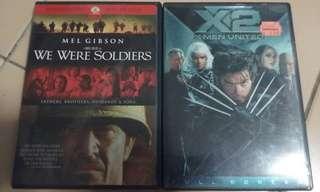 DVDs (US code 1)