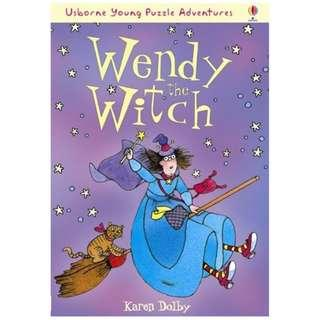 (Brand New) Wendy the Witch  (Usborne Puzzle Adventures)   By: Karen Dolby
