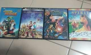 DVDs (animation)