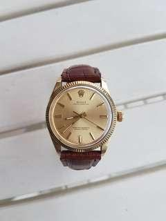 Rolex Oyster Perpetual 14k