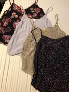 Aritzia Wilfred silk minou camisole