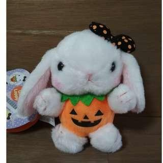 萬聖節 Amuse 垂耳兔 Loppy Rabbit  全新 Halloween Edition 掛飾公仔 12cm