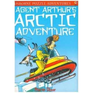 (Brand New) Agent Arthur's Arctic Adventure (Puzzle Adventures)  By: Martin Oliver