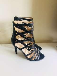 Nine West Black Caged Heels - Size 36