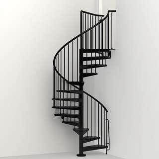 Spiral Staircase / Steel Staircase