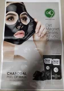 Charcoal Face peel Off Mask on sale!