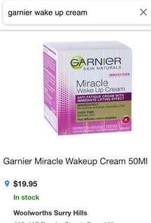 Garner SkinActive Wakeup Cream