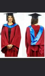 Murdoch University Graduation Regalia Set