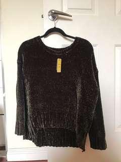 BNWT Sportsgirl Velvet Sweater