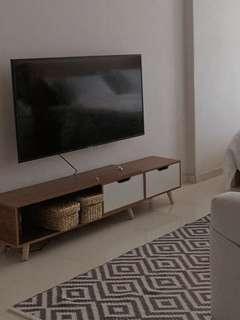 Tv Console - Oak Wood