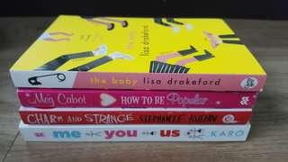 New Teen and young adult reads
