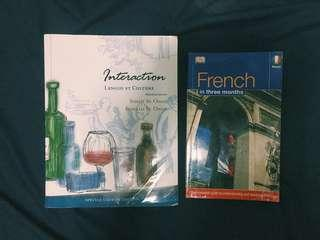 Books for learning FRENCH🇫🇷+ FREE SF