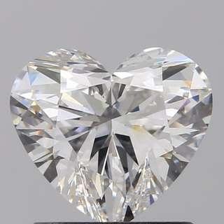 GIA_1卡❤️心形鑽石