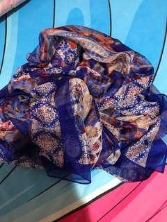 Scraf - silk scarf