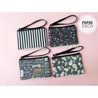 Wallet with strap - black collection