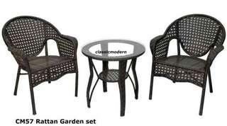 Outdoor Garden Set 2-seater Cm 57