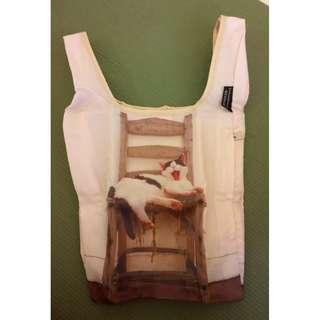 Cute reusable shopping bag for all cat lovers