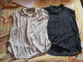 Iora cap-sleeved tops