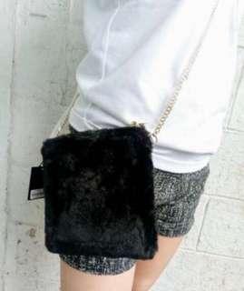 Forever 21 Fur Bag