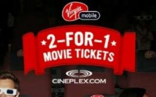 2-For-1 Movie Ticket Coupon