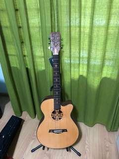 Brand new carving guitar