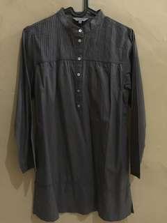Baju muslim anak grey