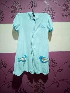 Ariel Disney Robe(Size 2-3y/o)