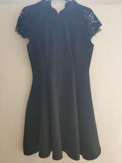 Shanghai Black Dress