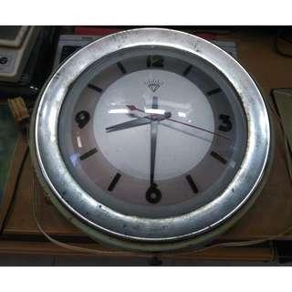 Vintage 1960 Electric Wall Clock