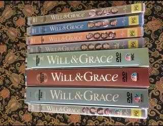 Will & Grace complete series collected over time