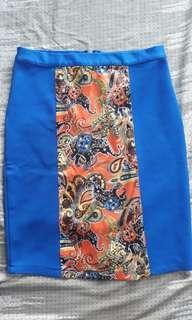 Blue Bali Skirt