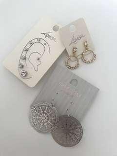 Lovisa top shop earrings