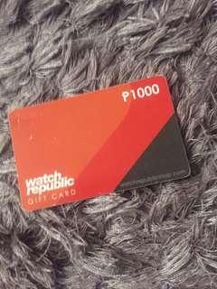 watch republic gift card