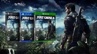 Preorder - Just Cause 4 - 4th December 2018