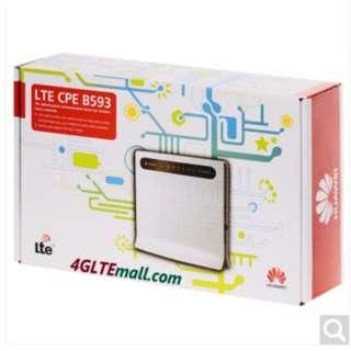 4G Router 4g router 4g sim card router LTE CPE HUAWEI B593