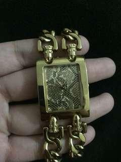 Guess gold plated