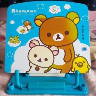 【4折】鬆弛熊閱讀架 San-x Rilakkuma reading stand