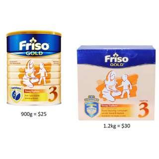 Friso Gold Stage 3
