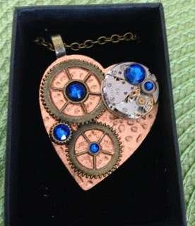 Steampunk new hand-crafted necklace