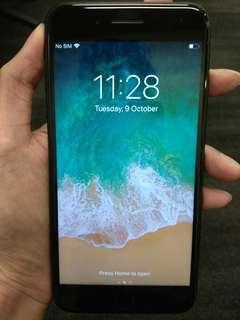 iPhone 7 Plus 128GB, Jet Black & MINT!
