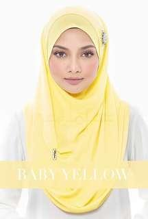 Nealofar Hijab Stella in Yello
