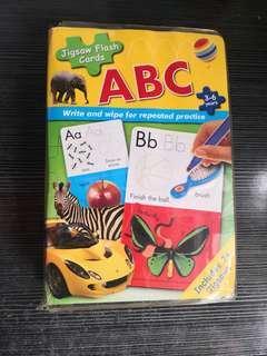 (已送出) 兒童 英文 寫字咭 + 拼圖
