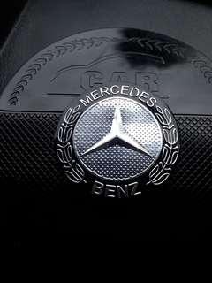 Mercedes Benz metal emblem