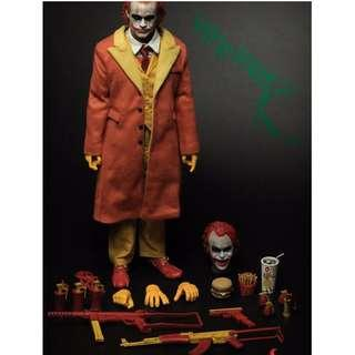 1/6 scale Burger Fast Food Joker  Full Set