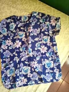 Baju Pantai / Floral Top